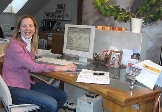 Birgit im Büro bjpg